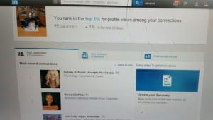 LinkedIn Views Tony Lee Hamilton