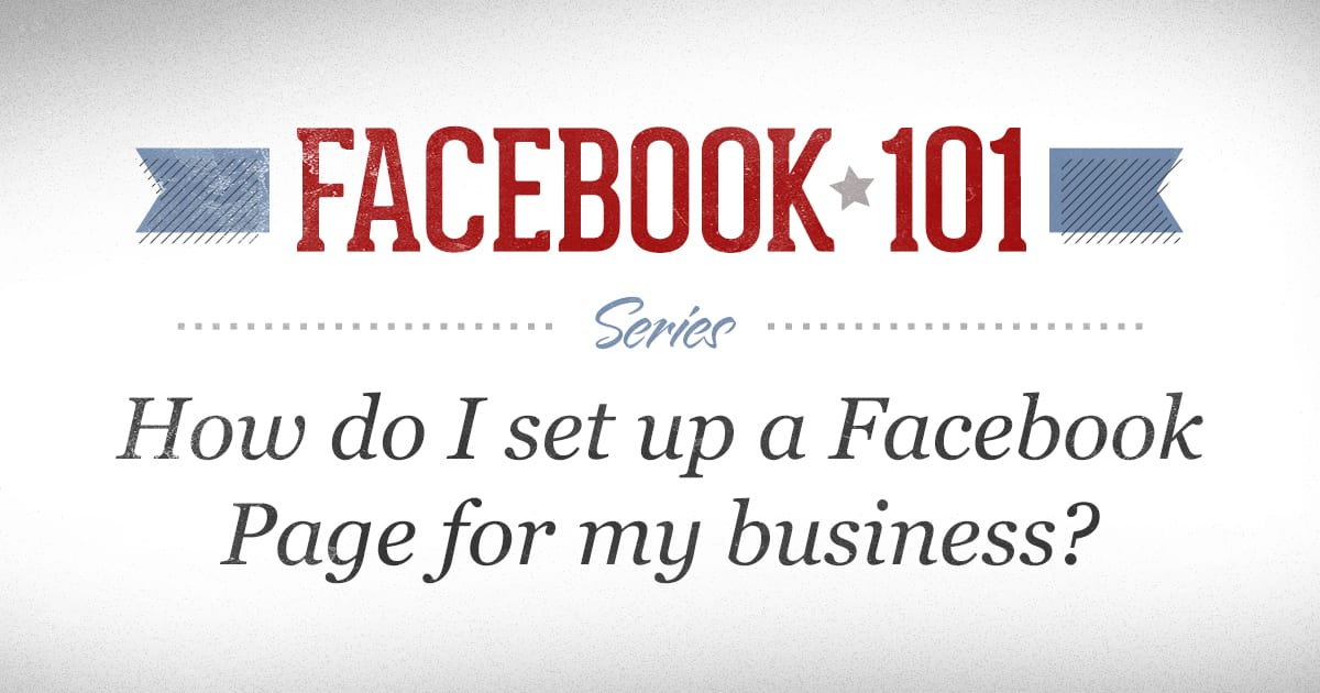 Training for adding a Facebook Business Page for your Business