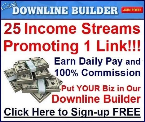 Cash Downline Builder
