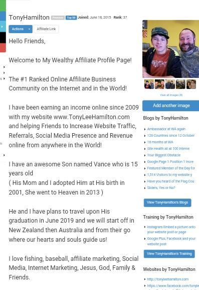 Internet Affiliate Marketing Veteran Wealthy Affiliate