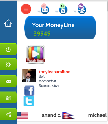 Tony Lee Hamilton Internet Affiliate Marketing Veteran Global MoneyLine