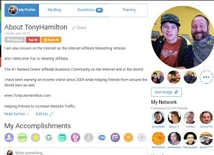 Tony Lee Hamilton Wealthy Affiliate