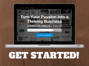 Wordpress site with SiteRubix