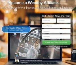 Free starter Membership at Wealthy Affiliate