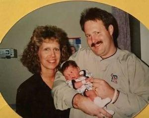Vance Newborn - Vance's Mom & I