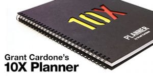 Grant Cardone's 10X Planner