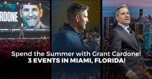 Grant Cardone Events