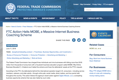 FTC Shutdown