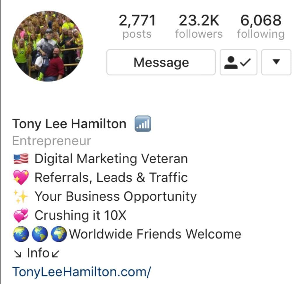 Instagram Digital Marketing Veteran