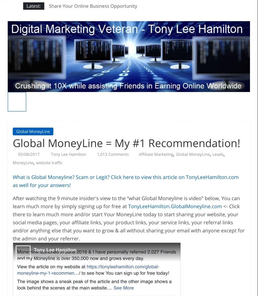 Global Moneyline What is it and how does it work