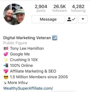 Digital Marketing Veteran Crushing it 10X Wealthy Super Affiliate