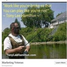 Wealthy Affiliate Tony Lee Hamilton