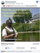 Digital Marketing Veteran Tony Lee Hamilton