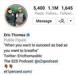 Eric Thomas Hip Hop Preacher