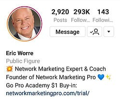 Eric Worre Network Marketing Pro Academy