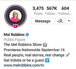 Mel Robbins Show