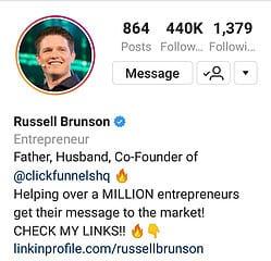 Russell Brunson ClickFunnels