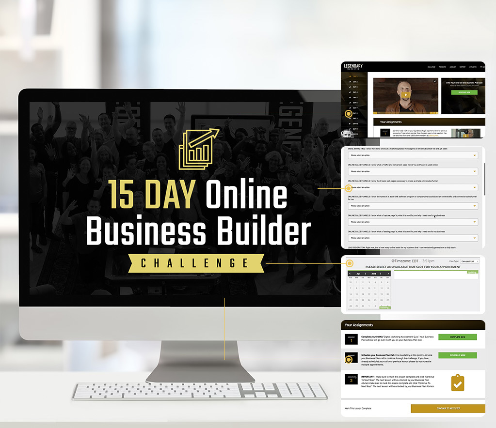 Legendary Marketer  Internet Marketing Program Box