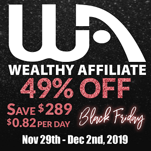 Best Online Black Friday Deals Wealthy Affiliate Marketing
