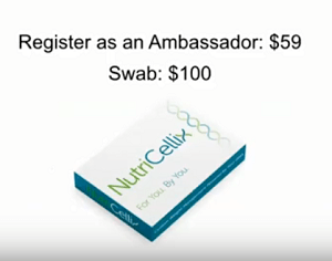 NutriCellix Register as an Ambassador