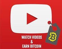 YouTube views for Bitcoin