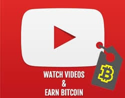 YouTube views for Bitcoin